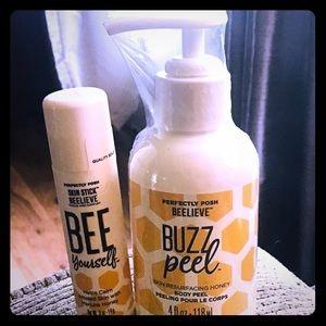 Buzz Peel Perfectly Posh Set  Resurfacing Peel